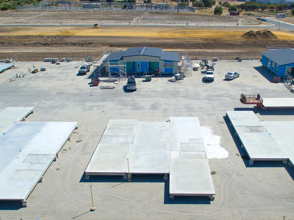 Action Solution Precast Concrete Perth McGrath Birdview