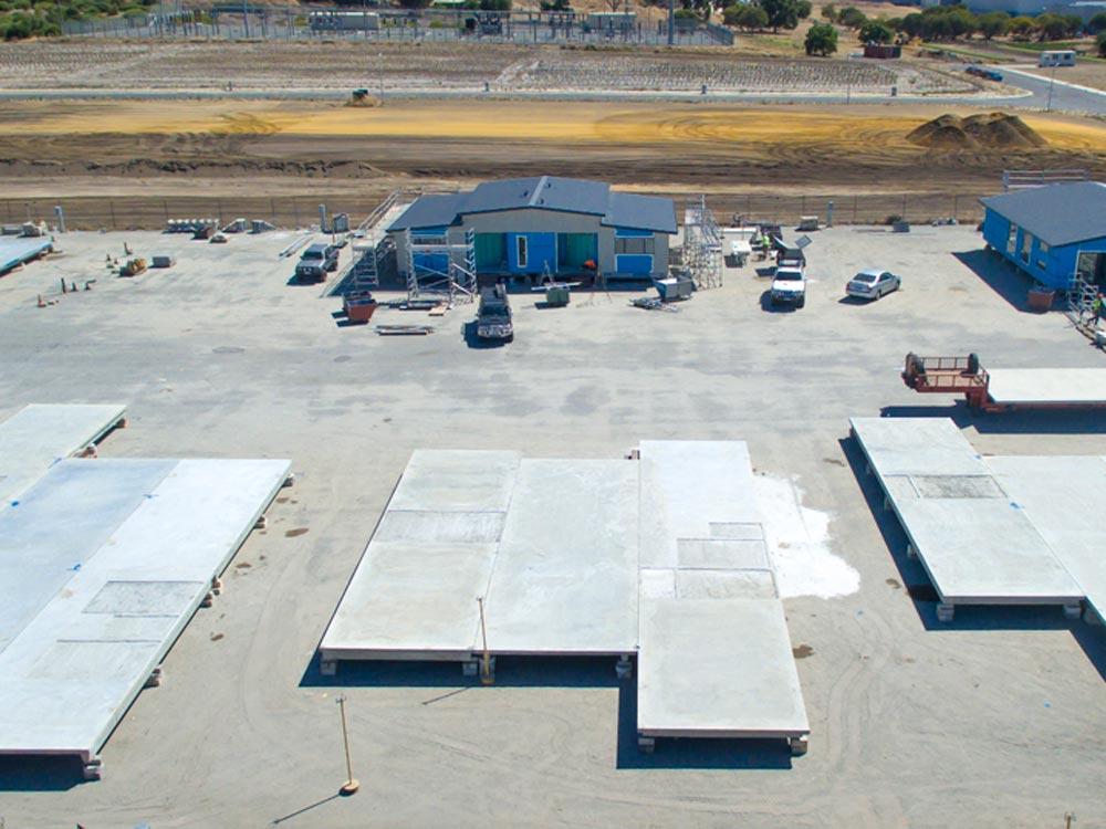Action Solution Precast Concrete Perth McGrath Birdview