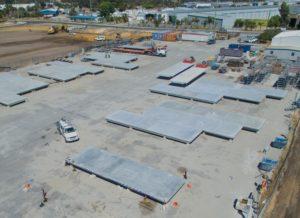 Action Solution Precast Concrete Perth Top View Onsite