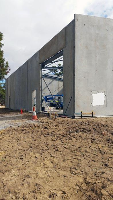 Precast Concrete Tilt Panels Perth • Action Solution • High Quality