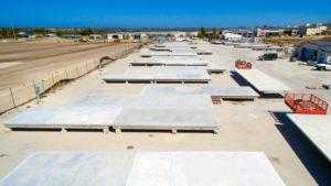 Action Solution Precast Concrete Floors Perth Australia MGrath Onsite Row Of Floors