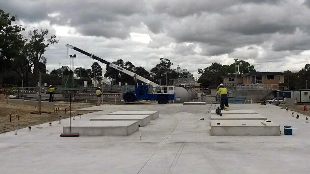 Action Solution Precast Concrete Perth The Advantage of Precast Concrete Water Corp