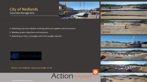Action Solution Precast Storage Bins Successful project management Precast Concrete Case Studies