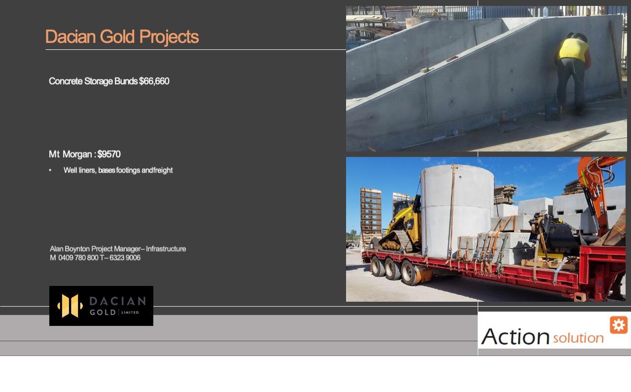 Action Solution Precast Storage Bins Dacian